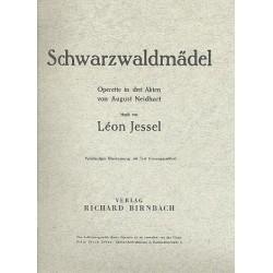 Jessel, Leon: Schwarzwaldmädel : Klavierauszug (dt)