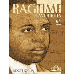 Joplin, Scott: Ragtime Favorites (+CD) : for mallets