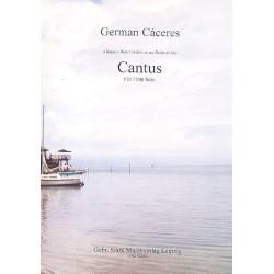 Cáceres, German: Cantus : für Flöte