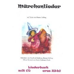 Märchenlieder (+ 2 CD's) : für Gesang und Gitarre