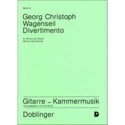 Wagenseil, Georg Christoph: Divertimento D-Dur für Gitarre und Klavier