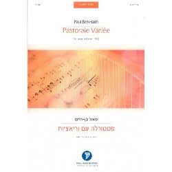 Ben-Haim, Paul: Pastorale vari├®e : for clarinet and piano