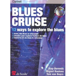Blues Cruise (+CD) : for clarinet