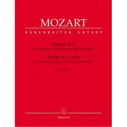 Mozart, Wolfgang Amadeus: Quintett A-Dur KV581 : für Klarinette und Streichquartett Stimmen