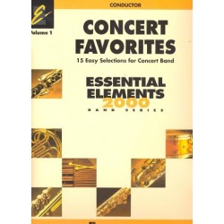 Concert Favorites vol.1 : for concert band conductor score