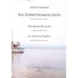 Nauheim, Claudia: Die Schmetterwurm-Suite : f├╝r Sopranblockfl├Âte und Klavier Stimmen