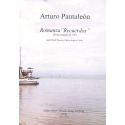 Pantaleón, Arturo: Romanza Recuerdos op.18b für Horn in F und Klavier