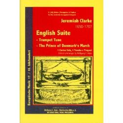 Clarke, Jeremiah: English suite : für clarino, 4 Posaunen und Pauke Partitur und Stimmen