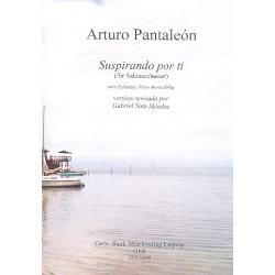 Pantaleón, Arturo: Suspirando por ti für Violine und Salonorchester Partitur und Stimmen