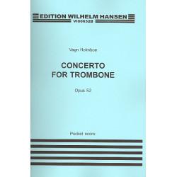 Holmboe, Vagn: Concerto no.12 op.52 für Posaune und Orchester Studienpartitur