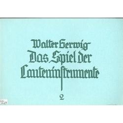 Gerwig, Walter: DAS SPIEL DER LAUTENINSTRUMENTE BAND 2