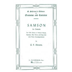 Händel, Georg Friedrich: Samson : for soli, chorus and orchestra vocal score