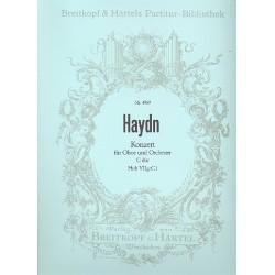 Haydn, Franz Joseph: Konzert C-Dur Hob.VIIg:C1 : f├╝r Oboe und Orchester Partitur