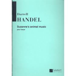 Handel, Darell: Suzanne's animal music : pour harpe