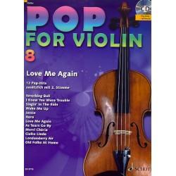 Pop for Violin Band 8 (+CD) für 1-2 Violinen Spielpartitur
