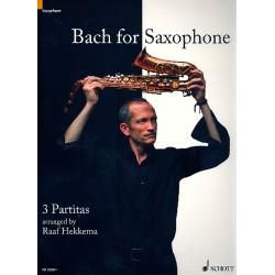 Bach, Johann Sebastian: Bach for Saxophone - 3 Partiten : für Saxophon