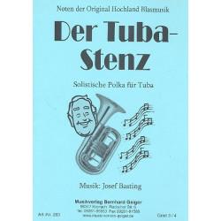 Basting, Joesf: Der Tuba-Stenz : f├╝r Tuba und Blasorchester Direktion und Stimmen