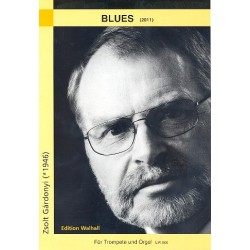 Gardonyi, Zsolt: Blues : für Trompete und Orgel