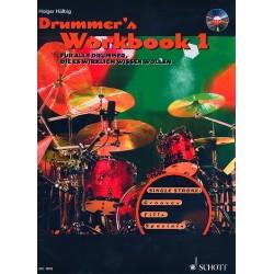 Hälbig, Holger: Drummer's Workbook Band 1 (+mp3-CD) : für Schlagzeug