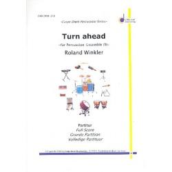 Winkler, Roland: Turn ahead : f├╝r Percussion-Ensemble (9 Spieler) Partitur und Stimmen