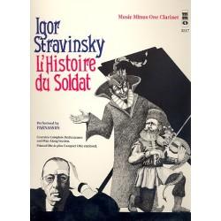 Strawinsky, Igor: L'Historie du soldat (+CD) : for clarinet