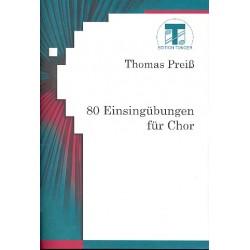 Preiß, Thomas: 80 Einsingübungen : für Chor