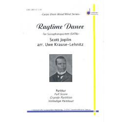 Joplin, Scott: Ragtime Dance : für 4 Saxophone (SATBar) Partitur und Stimmen