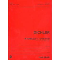 Dichler, Josef: Intermezzo und Capriccio : f├╝r Klavier linke Hand