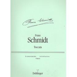 Schmidt, Franz: Toccata d-Moll : f├╝r Klavier linke Hand