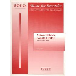 Heberle, Anton: Sonata : for recorder in c solo