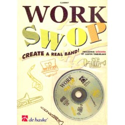 Gorp, Fons van: Work swop (+CD) : for clarinet Create a real band