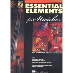 Allen, Michael: Essential Elements Band 1 (+CD) : für Streicher Partitur