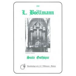 Boellmann, Léon: Suite gothique : für Orgel