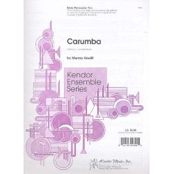 Houllif, Murray: Carumba : for body percussion trio score and parts
