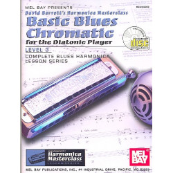 Barrett, David: Basic blues chromatic for the diatonic Player (+CD) : for harmonica (level 3)