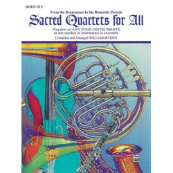 Sacred quartets for all : Horn in F