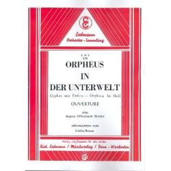 Offenbach, Jacques: Orpheus in der Unterwelt : Ouvertuere für Salonorchester Partitur und Stimmen