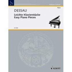 Dessau, Paul: Leichte Klavierstücke