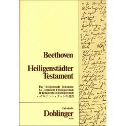 Beethoven, Ludwig van: Heiligenstädter Testament Faksimile