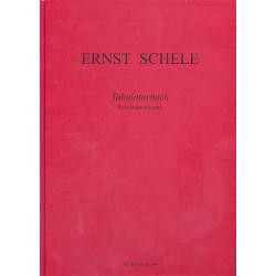 Schele, Ernst: Tabulaturbuch 1619 : f├╝r Renaissance-Laute