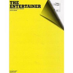 Joplin, Scott: The Entertainer : for piano (simplified)