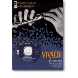 Vivaldi, Antonio: Music minus one flute : flute concertos d major, g major and f major