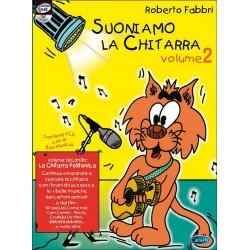 Fabbri, Roberto: Suoniamo la chitarra vol.2 (+CD) : la chitarra polifonica italienische Gitarrenschule für Kinder