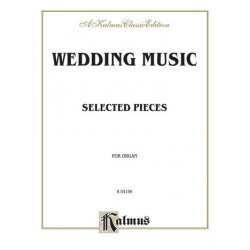 Wedding music : selected pieces for organ