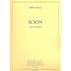 Jolas, Betsy: Scion : pour violoncelle (1973)