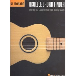 Johnson, Chad: Ukulele chord finder : easy-to-use guide to over 1000 ukulele chords