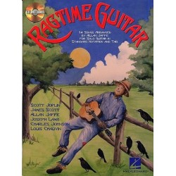 Ragtime guitar (+CD) : for solo guitar 14 songs, standard notation and tab Jaffe, Allan, arr.
