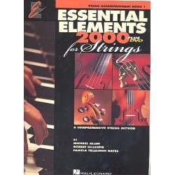 Allen, Michael: Essential Elements 2000 vol.1 : for strings piano accompaniment