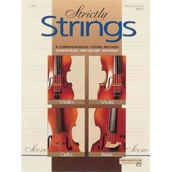 Dillon, Jacquelyn: Strictly strings vol.2 a comprehensive string method, teacher's manual and score
