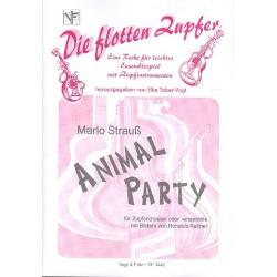 Strauß, Marlo: Animal Party : für Zupforchester und Schlagwerk Partitur